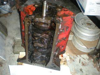 1956 Ford ECZ Thunderbird Y Block Engine Short Block w Pistons Cam Crankshaft