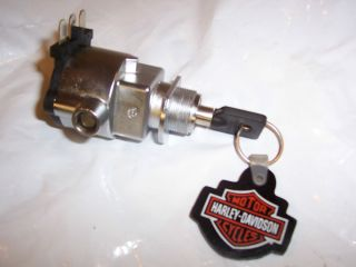 Harley Dyna Street Bob Super Wide Glide Fork Lock Ign Switch