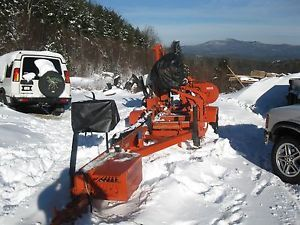 1998 Woodmizer LT40 Super Remote Sawmill w Kubota Diesel Engine Only 700 Hours