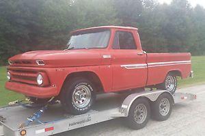 1965 Chevrolet C10 SWB Fleetside Pickup Truck Project RARE Big Back Window