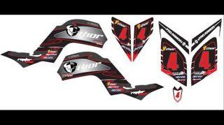Yamaha Raptor 660 Custom Graphics Kit Decal Set
