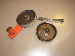 """Gravely Garden Tractor Lawn Mower 8122 50"""" Mowing Deck Idler Pulleys"""
