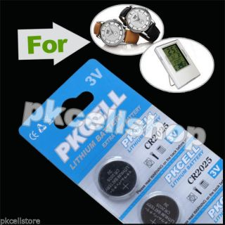 CR2025 3V 150mAh 5pcs Blisters 3 PKCELL Button Coin Cell Battery