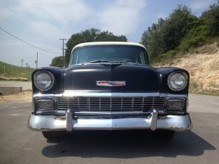 1956 Chevrolet Two Door Post Retro Hot Rod Vortec Engine 4 Speed Video Texas Car