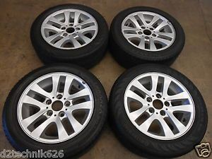 Genuine BMW 16x7 Factory Wheels Tires OE E90 E92 328 325 Continental 2055516