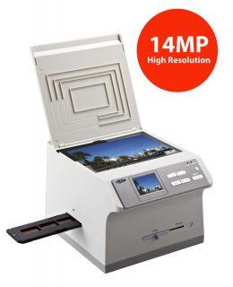 Multifunction 4 in 1 Digital Photo Film Slide Business Card Scanner PS989