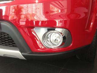 Chrome Front Bumper Fog Lamp Light Cover Molding Trim for 2013 Dodge Journey