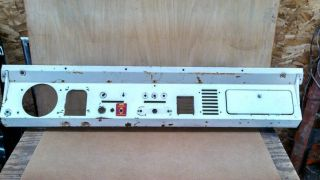 66 77 Early Ford Bronco Steel Dash Panel Am Radio Opening 1966 1977