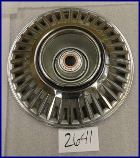 "67 68 Chrysler Plymouth Dodge Charger Hemi w Disc Brakes 15"" Hubcap Hub Cap 307"