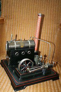 Antique Tin Toy Live Steam Engine Model Doll Et Cie Bing Carette Marklin