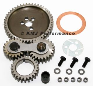 Big Block Chevy 454 Quiet Dual Idler Gear Drive Kit 396 402 427 BBC