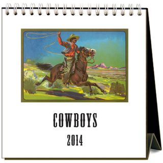 Cowboys 2014 Easel Desk Calendar