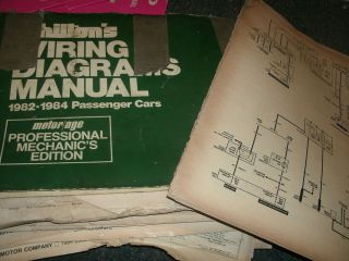 1983 Chevrolet Malibu Monte Carlo SS El Camino Wiring Diagrams Schematics Set