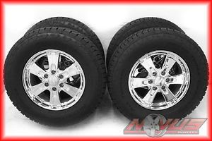 "New 18"" Chevy Tahoe Silverado Z71 GMC Yukon Chrome Wheels Nitto Tires 17 20"