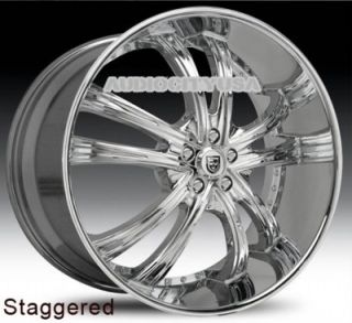 """22"""" Lexani LSS55 CH for Land Range Rover Wheels and Tires Rims HSE Sports"""