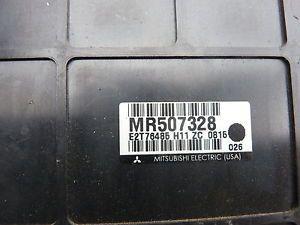 2001 Mitsubishi Eclipse A T ECU ECM Engine Computer MR507328