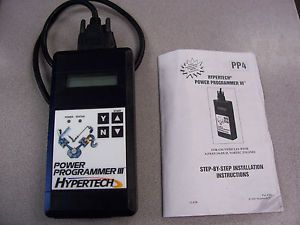 Hypertech Power Programer III for GM Vehicles 4 3 4 8 5 3 6 0 8 1 Vortec Engines
