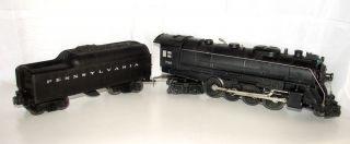 Lionel 736 Postwar Berkshire Steam Locomotive Engine Pennsylvania Tender