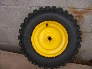 MTD Snow Blower Tire and Rim