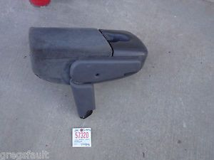 99 F150 Front Jump Seat Ford Pickup Truck Center Console Cup Holder