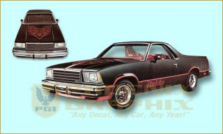 1978 1979 1980 1981 1982 1983 GMC Diablo Decals Stripes Kit