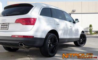 """20"""" Roderick RW5 Wheels Black Audi Q7 Porsche Cayenne VW Touareg Tires RW 5 19"""