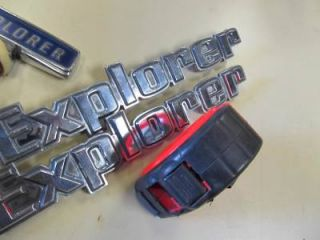 Explorer Emblems Hood and Side Ford Truck 73 79 F100 F150 F250 F350 77FT2 1
