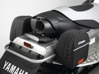 Yamaha FX Nytro Fuel Caddies Snowmobile Bag Snow Black