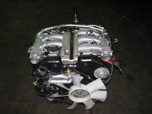 JDM Nissan VG30DE Engine and 5 Speed Transmission 300zx Non Turbo VG30 Motor
