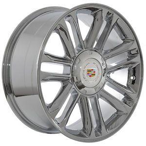 "20"" inch Cadillac Escalade Platinum Chrome Wheels Rims"