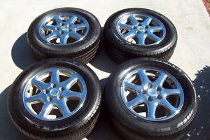 "Cadillac Seville STS Chrome 16"" Wheels Tires Rims 5x115 cts DeVille Factory"