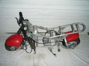 Mini Bike Minibike Motorcycle Pocket Bike Frame Wheel Suspension Rolling Chassis