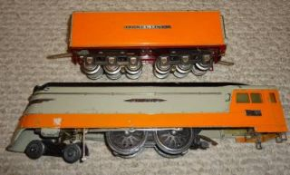 Original Pre War Lionel Hiawatha Streamliner Set 755W with Boxes Milwaukee Road