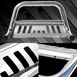 1999 2004 Ford F150 F250 4WD Chrome Bull Bar Guard Push Bumper Grille Crew Cab
