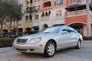 2000 Mercedes Benz s Class S430 Clean Carfax Florida Car Low Miles