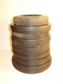 Vintage Pedal Car Toy Buggy or Wagon Tires Are Assorted Sizes
