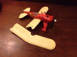 Vintage Damaged Cox Lil' Stinker Pitts Biplane Project Thimble Drome Engine