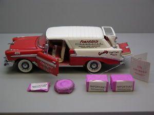 Franklin Mint 1957 Chevrolet Nomad Franklin Parts Service Die Cast Model Car