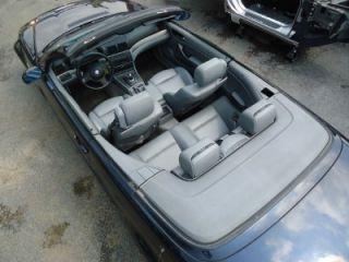 2002 BMW M3 Convertible E46 Complete Gray Interior Seats Carpet Door Panels Trim