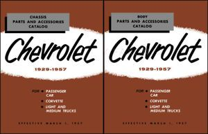 Chevy Master Parts Catalog 1955 1956 1957 Chevrolet Car Truck Corvette Part Book