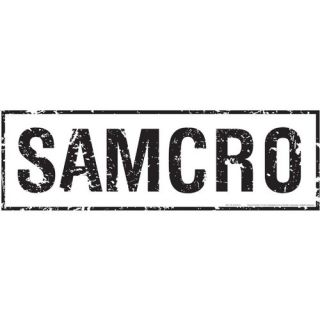 Advanced Graphics Sons of Anarchy SAMCRO Wall Jammer