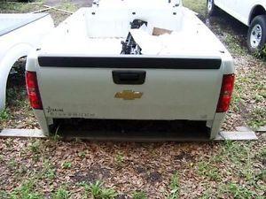 2007 2013 Chevy Silverado Sierra 1500 4x4 8ft Truck Bed Tailgate Complete Bumper