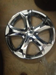"Set of 4 Toyota Venza 20"" Chrome Wheel Skins Rim Covers Hub Caps Wheels"