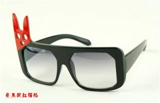 2012 New Creative Frame Angle Cat Face Shape Sunglasses Frames UV 400 Eyewear