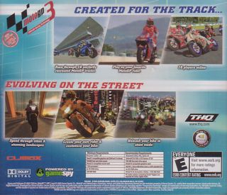 MotoGP 3 Moto GP III Street Bike Racing PC Game New 4005209062824