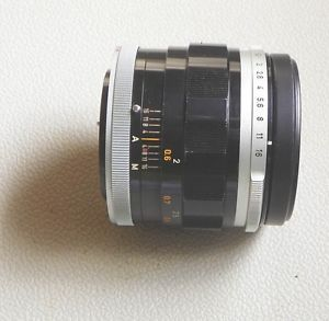 Canon FL Lens 55mm F1 2 1 1 2 for Canon FD Mount Serial Number 37315