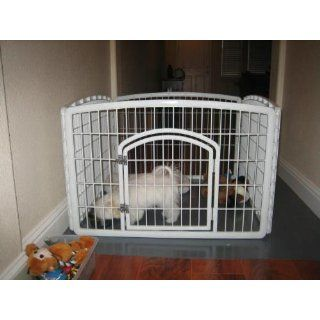 New Pet Fence Indoor Outdoor Plastic Exercise Containment Pen