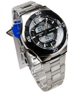 Casio Men World Time Alarm Analog Digital Sport Watch AQ164WD AQ 164WD 1AV