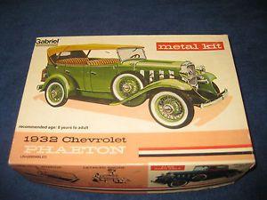 "Gabriel Metal Car Model Kit ""1932 Chevrolet Phaeton"""