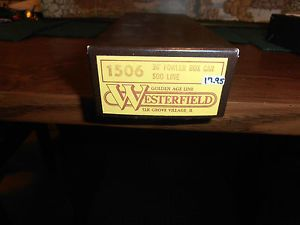 HO Scale Westerfield Soo Line 36' Fowler Box Car Kit Train Freight Car
